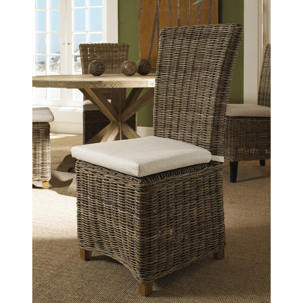 DeKalb Patio Dining Chair with Cushion by Bay Isle Home
