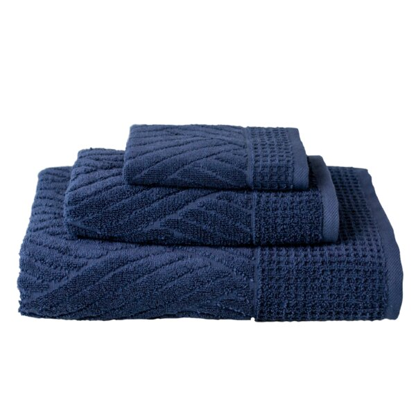 Charlbury 3 Piece Turkish Cotton Towel Set by Highland Dunes