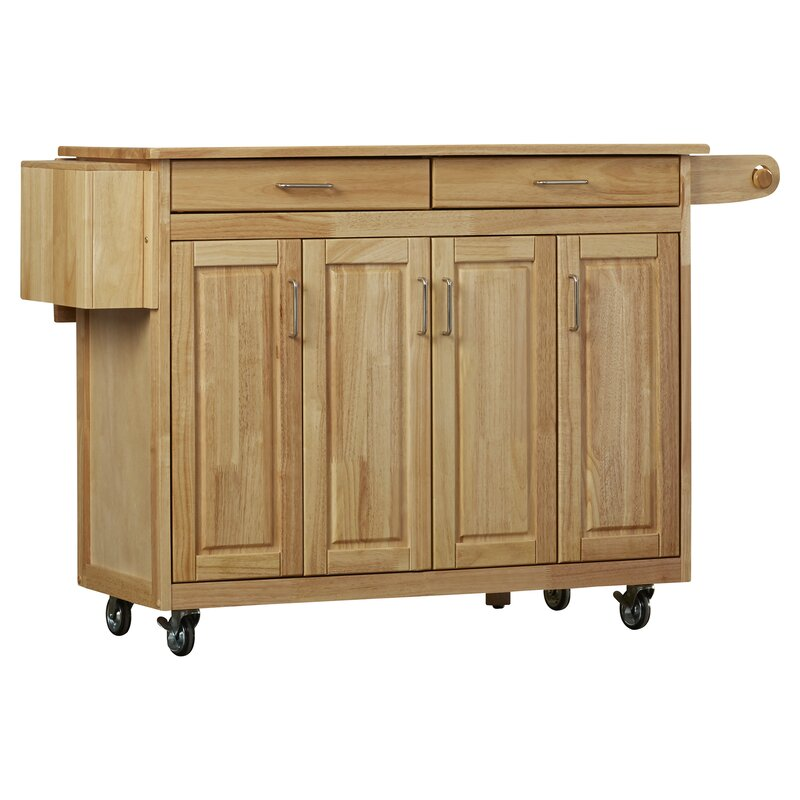 August Grove Epping Kitchen Island
