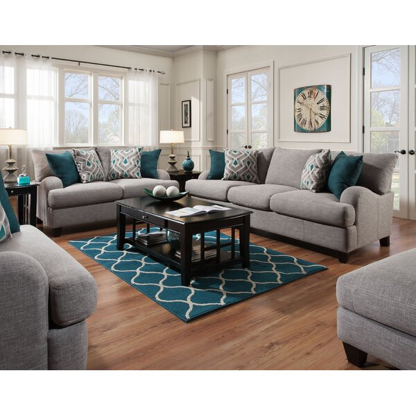 Laurel Foundry Modern Farmhouse Rosalie Configurable Living Room