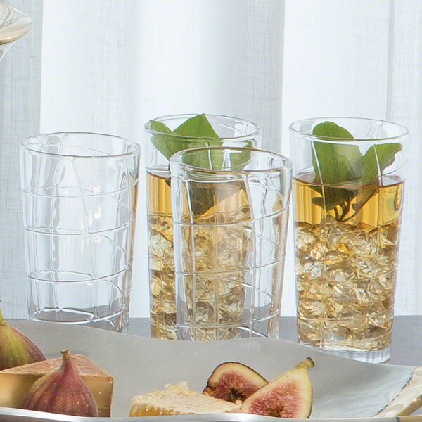 Dowdell Highball Glass (Set of 4) by Darby Home Co