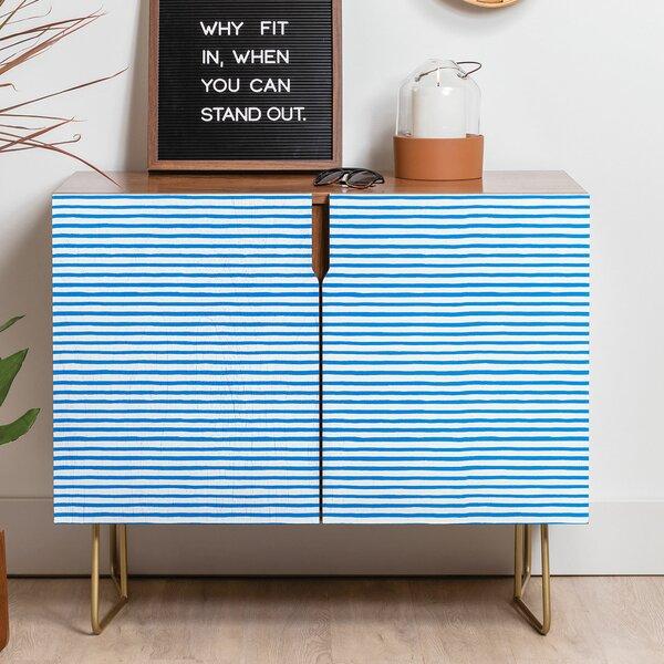 Ninola Marker Stripes Sideboard by East Urban Home