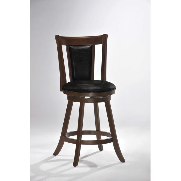 Sousa 24 Swivel Bar Stool by Loon Peak