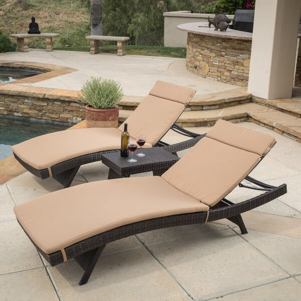 Frankel Chaise Lounge Set with Cushion