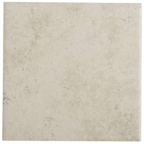Jacobson 6 x 6 Ceramic Field Tile in Bone by Itona Tile