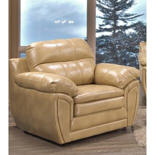Adelea 2 Pieces Genuine Leather Living Room Set (Set of 2) by Ebern Designs