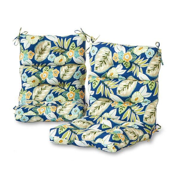 Indoor/Outdoor Seat/Back Cushion (Set of 2)