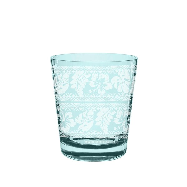 Margaritaville Batik 16 oz. Plastic Cocktail Glasses (Set of 6) by Margaritaville