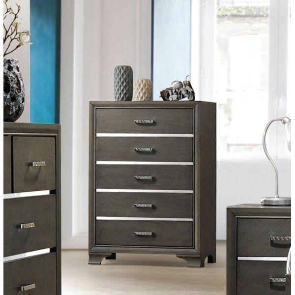 Anadolu 5 Drawer Chest by Ivy Bronx