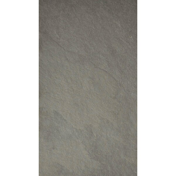 Pewter 12 x 24 Slate Field Tile in Gray by The Bella Collection