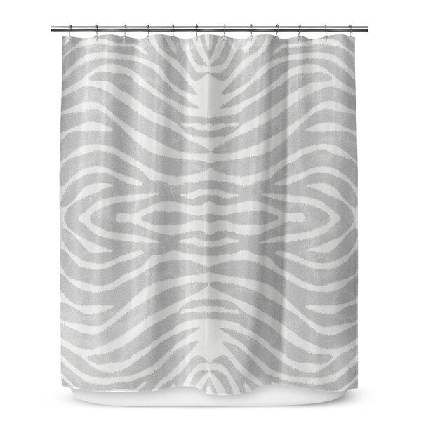 Nerbone Cotton Blend Shower Curtain by World Menagerie