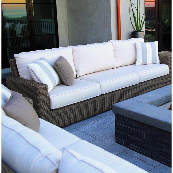 Coronado Patio Sofa with Sunbrella Cushions by Sunset West Sunset West