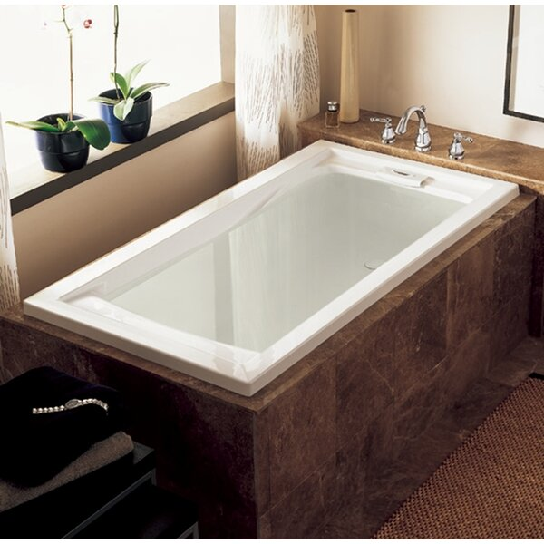 Evolution 72 x 36 Deep Drop-in Alcove Soaking Bath