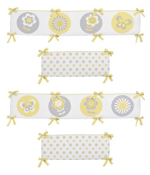 Mod Garden Crib Bumper by Sweet Jojo Designs