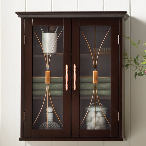 Delaney 20.5 W x 24 H Wall Mounted Cabinet by Elegant Home Fashions