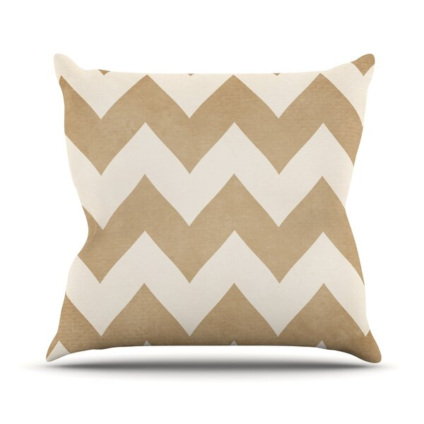 Biscotti Outdoor Throw Pillow by East Urban Home