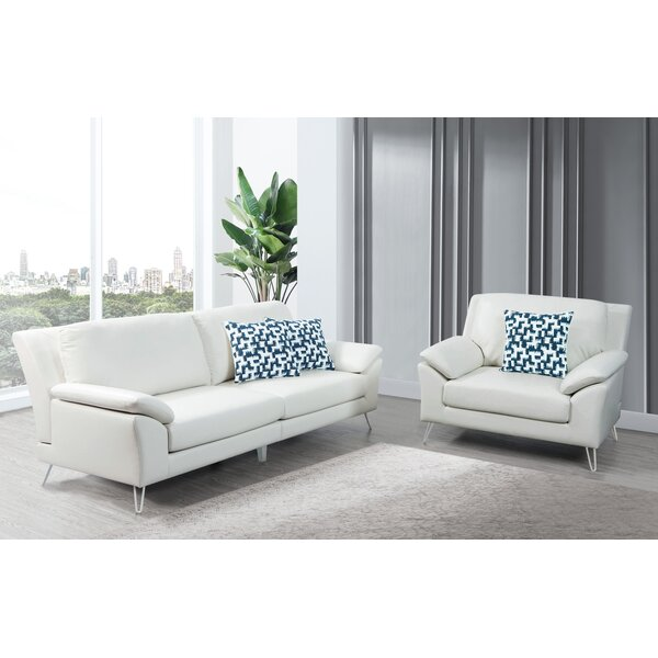 Lourenco 2 Piece Living Room Set by Wrought Studio