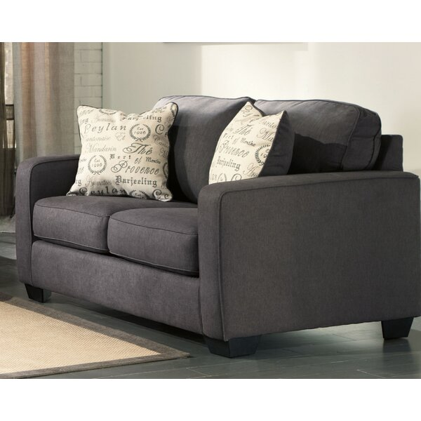 Deerpark Square Arms Loveseat By Andover Mills