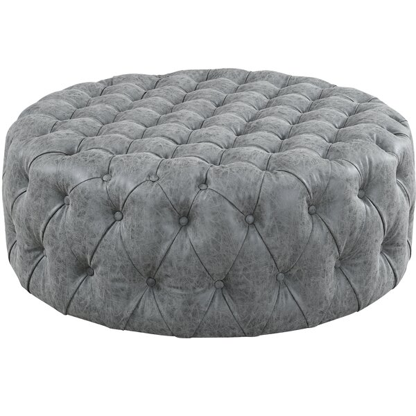 Justice Tufted Cocktail Ottoman by Williston Forge