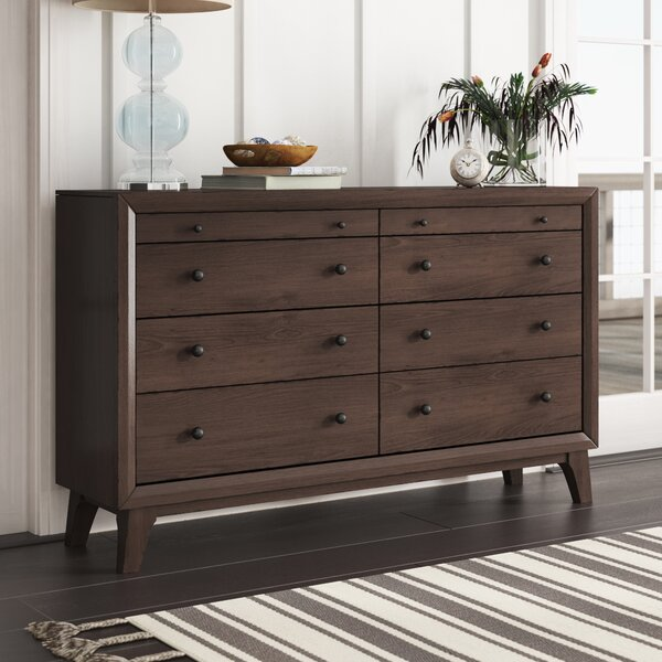 Zichichi 8 Drawer Double Dresser by Mercury Row