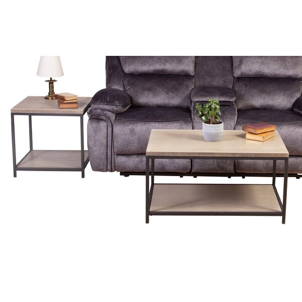 Wasdale 2 Piece Coffee Table Set by Ebern Designs Ebern Designs