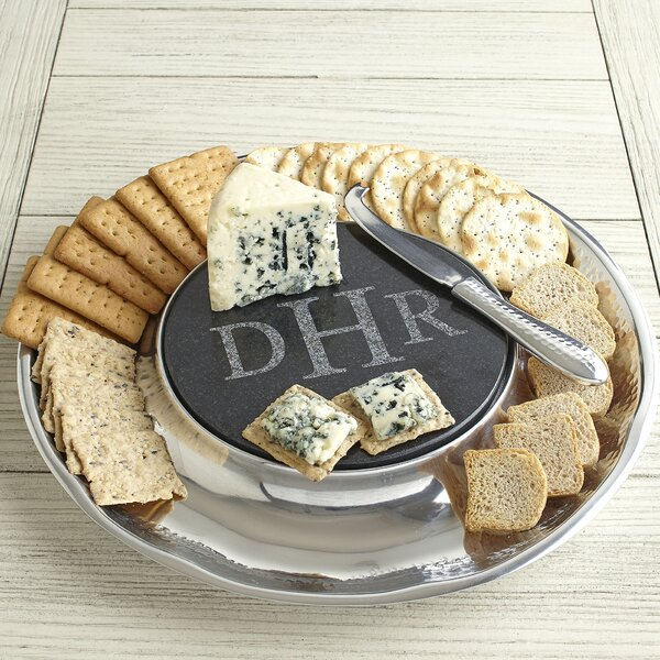 Olmsted Monogrammed Cheese Server by Birch Lane™