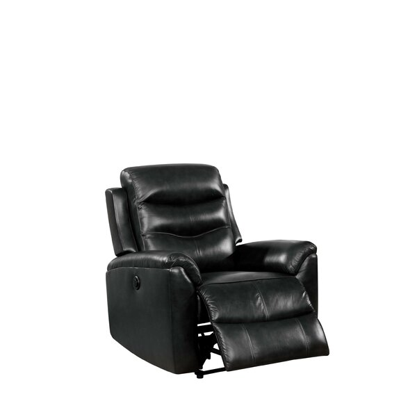 Rowana Genuine Leather Power Recliner W003195336