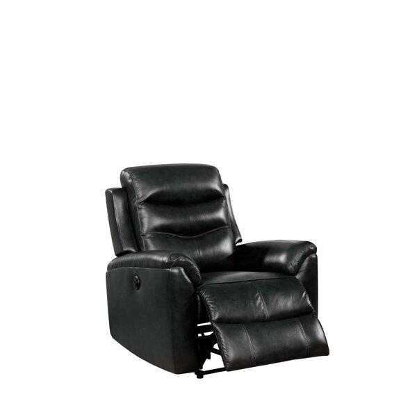 Rowana Genuine Leather Power Recliner W003195336