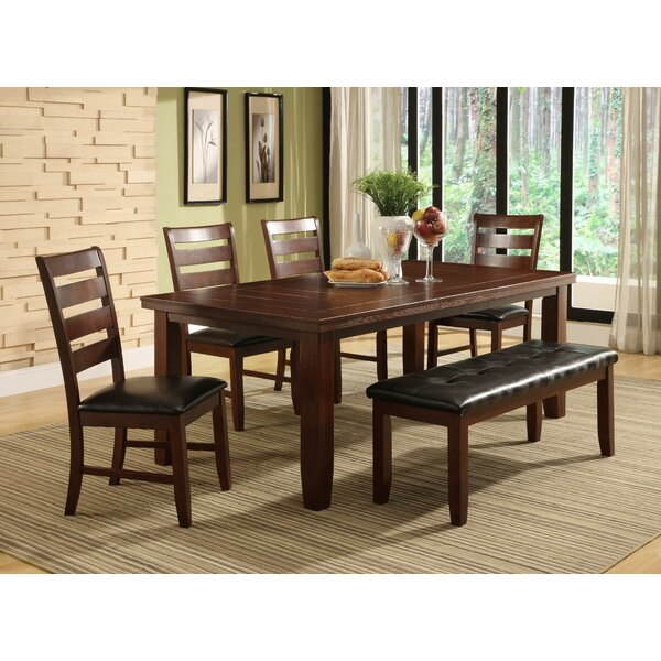 Lecroy 6 Piece Extendable Dining Set by Millwood Pines