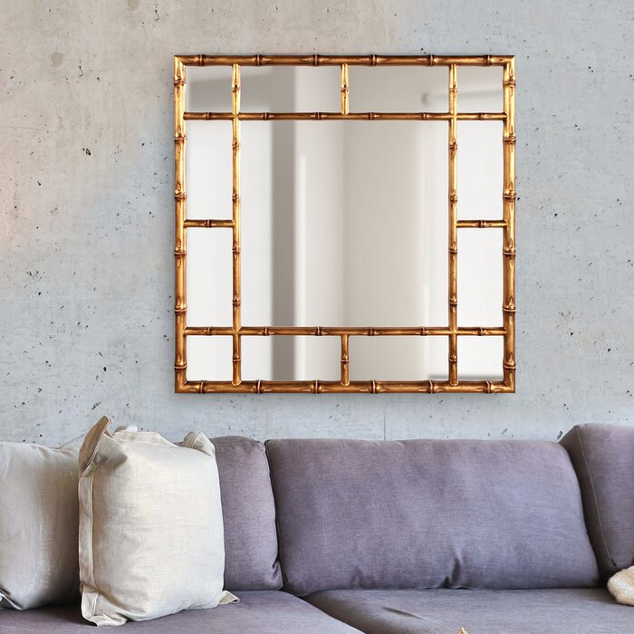 Bamboo Accent Mirror