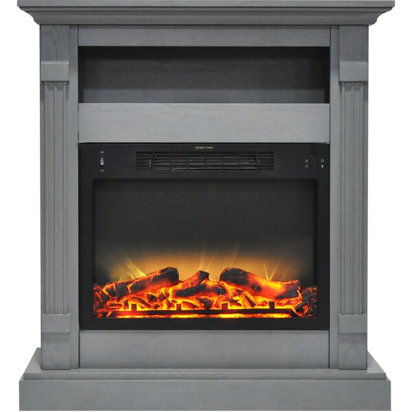 Andillac Electric Fireplace by Loon Peak