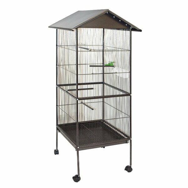 Steel Bird Aviary By Aleko.