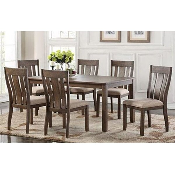 Daysi 7 Piece Breakfast Nook Dining Set by Darby Home Co
