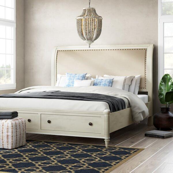 Tildenville Carthage Upholstered Storage Platform Bed by Beachcrest Home