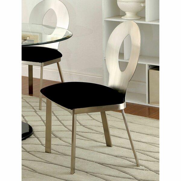 Meleze Upholstered Dining Chair (Set Of 2) By Orren Ellis