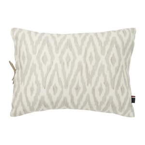 Mission Paisley Cordillera Ikat Cotton Lumbar Pillow