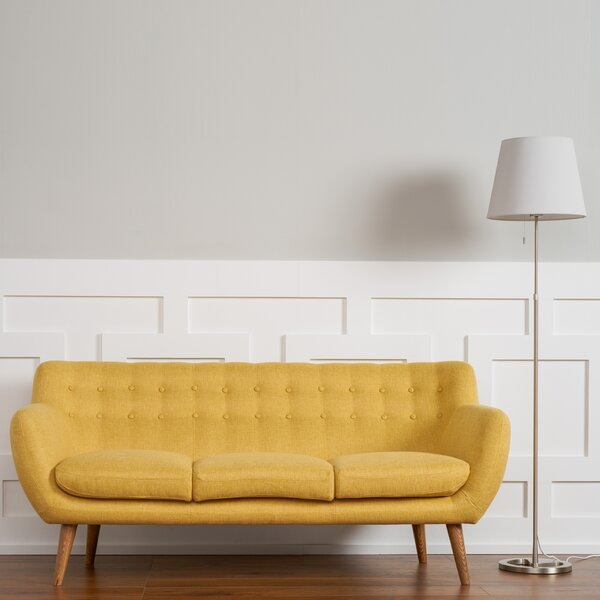 Classy Martinique Tufted Sofa by Langley Street by Langley Street