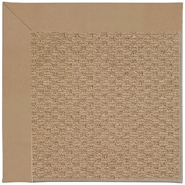 Lisle Machine Tufted Biscuit and Beige Indoor/Outdoor Area Rug by Longshore Tides