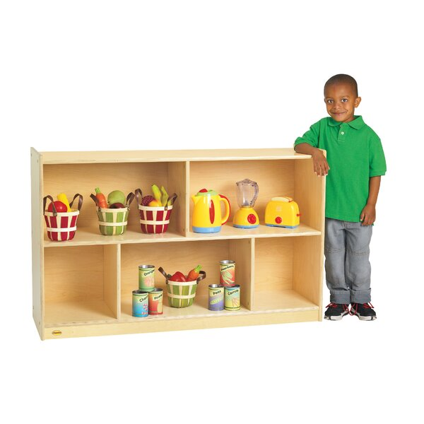 Value Line 5 Compartment Shelving Unit with Casters by Angeles