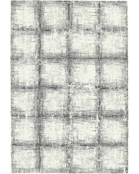 Lucina Black / White Area Rug by Wrought Studio