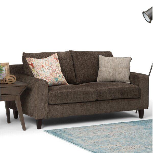 Best Recommend Quijada Loveseat by Ivy Bronx by Ivy Bronx