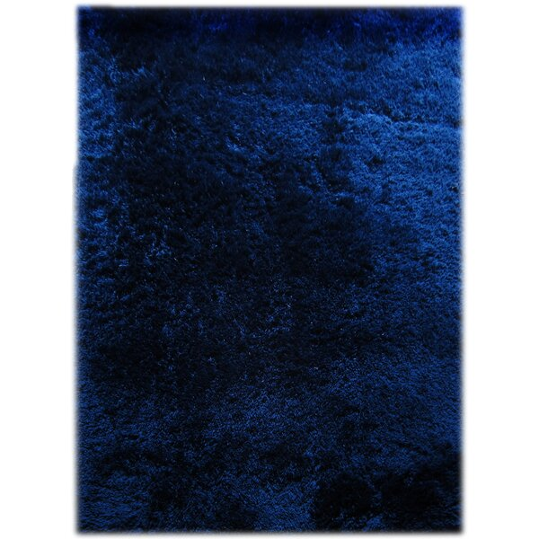 Florala Royal Blue Area Rug by Wrought Studio