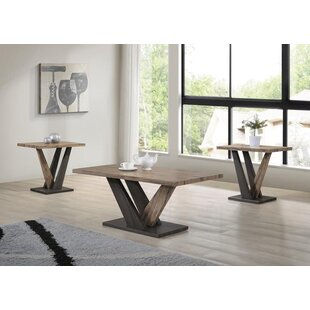 Valazquez 3 Piece Coffee Table Set