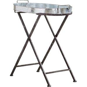 Allegany Iron Folding Tray Table