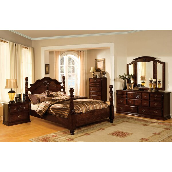 Ricciardi Four Poster Configurable Bedroom Set By Astoria Grand by Astoria Grand Best Design