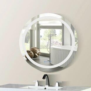 Compare & Buy Cason Bordered Illuminated Bathroom/Vanity Mirror ByOrren Ellis