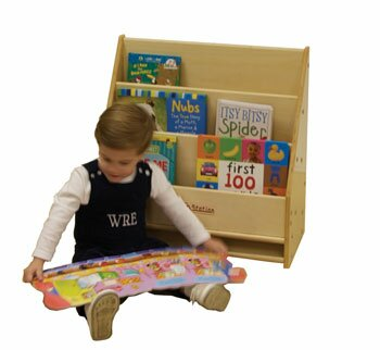 Toddler Portable Book Display by Kids' Station