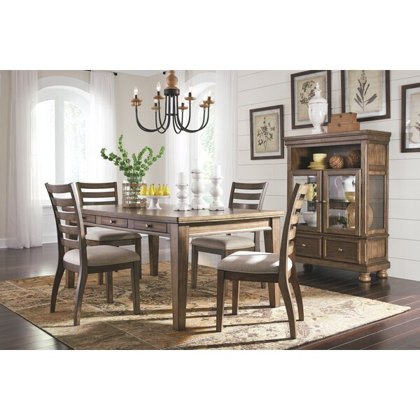 Penwortham 5 Piece Solid Wood Dining Set by Three Posts