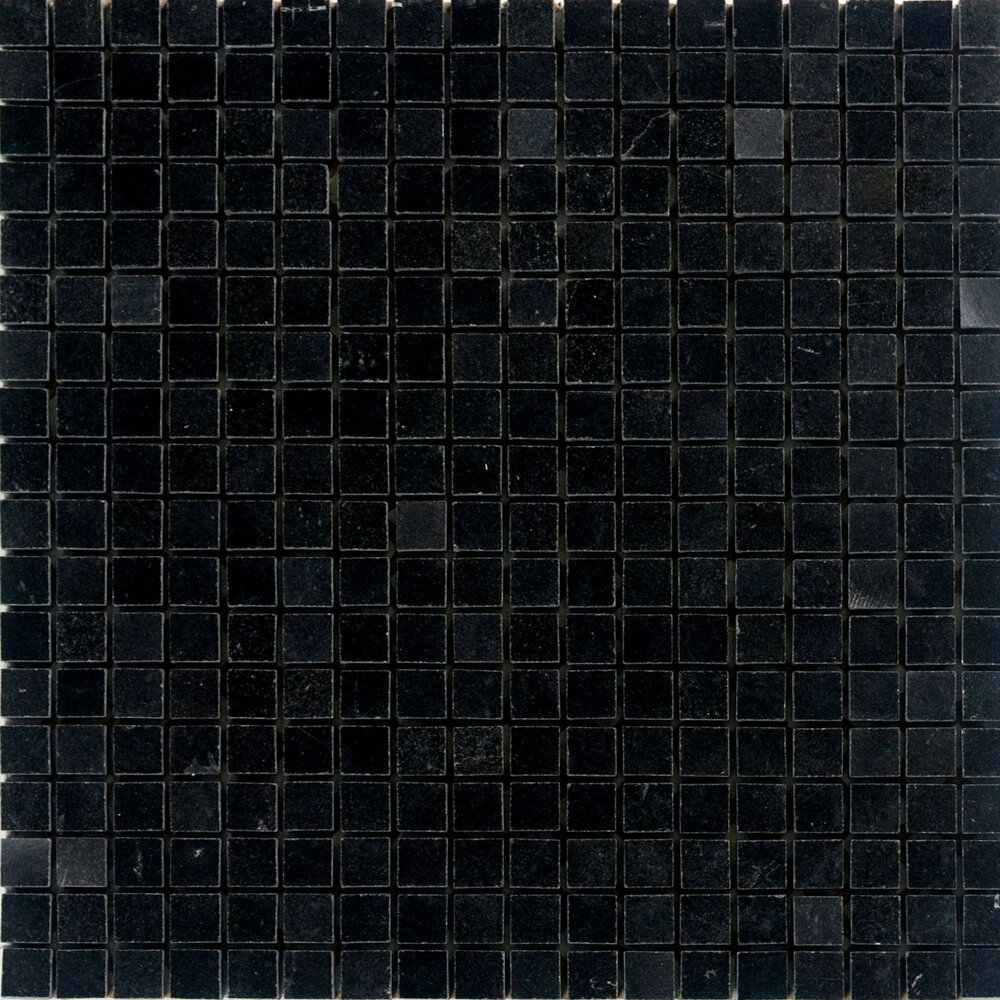 Granite Mosaic Tile In Absolute Black