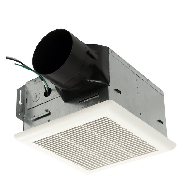 HushTone 80 CFM Energy Star Bathroom Fan by Cyclone